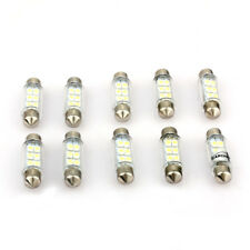 10X 6 SMD LED Innenraum Lampe Sofitte Soffitte 39mm Wei?