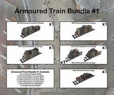 Railway WW2 Armoured Train Bundle 1 28mm R035