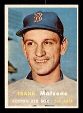 FRANK MALZONE 57 TOPPS 1957 NO 355 EXMINT+ 21409