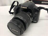 Canon EOS 450D 12.2MP Digital SLR Camera + Black (Kit w/ EF-S 18-55mm Lens