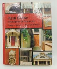 Real Estate Principles by M. Unger and G. Karvel Hardcover 7th Edition Book 1983