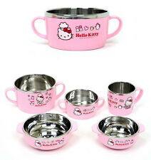 Lock and lock Hello Kitty baby toddler feeding Stainless Steel Bowl