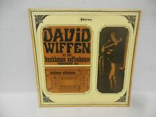 rare David Wiffen record jacket only At The Bunkhouse holy grail of cdn folk
