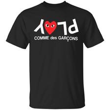 Play Comme Des Garcons Japanese Fashion TShirt Cotton Men S-5XL US Supplier