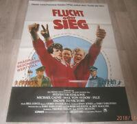 A1 Filmplakat   FLUCHT ODER SIEG  , SYLVESTER STALLONE,MICHAEL CAINE