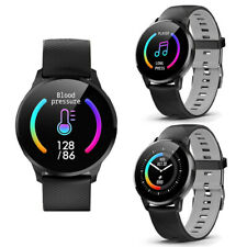 Bluetooth Smart Watch Heart Rate Oxygen For All iPhone iOS & Android Smartphones