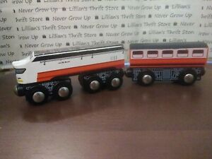 Wooden Train Compatble With Thomas Brio