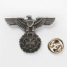 World War II Two WWII German Eagle Iron Cross Badge PIN-50067