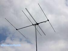 Konni 4 Elemente DK7ZB-Yagi 70 MHz 4 Meter Band Richtantenne 6,1dBd & Scanner
