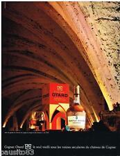 PUBLICITE ADVERTISING 095  1968  LE cognac  OTARD