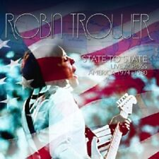 ROBIN TROWER - STATE TO STATE:LIVE ACROSS AMERICA 1974-1980 2 CD NEW+