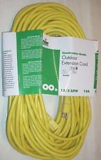 Paige 123100Y Construction Grade Outdoor Electrical Extension Cord 100' 12/3 15A