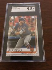 Pete Alonso 2019 Topps Series 2 Rookie RC SGC 9.5 475 Mint+