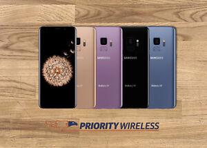 Samsung Galaxy S9 G960 64/128/256GB AT&T TMobile Verizon Sprint Unlocked
