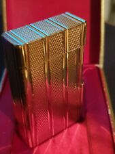 Mint S T Dupont L1 Large Lighter - Gold Plated - Boxed