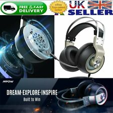 3.5mm Gaming Headset Mic LED Headphone For SW PC PS4 / Slim / Pro Xbox one S X