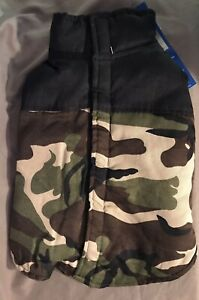 Dog Vest Jacket Camo by Casual Canine New Size Small/Med Weather Resistant