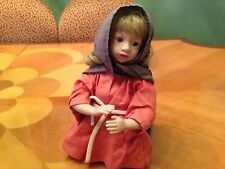 HUGE ASHTON DRAKE PORCELAIN PRAY DOLL SIGNED 442 A