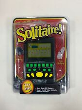 Solitaire Electronic Travel Handheld Card Game Pocket Arcade Westminster New