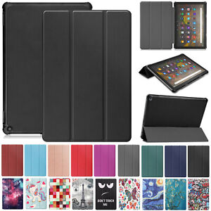 """For Amazon Fire HD 10 Plus 2021 11th Gen 10.1"""" Smart Leather Stand Case Cover"""