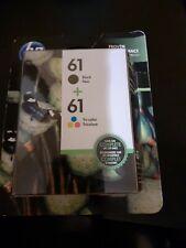 Hp 61 ink cartridge combo black color new genuine exp.2021.