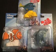 Disney DORY NEMO Figurines/Cake Toppers 3 Piece Set Toy Collection