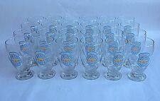 New Castle Summer Ale Beer 16oz Schooner Footed Glasses NOS Case of 24