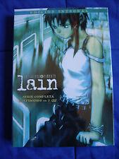 DVD - Anime - Lain Serial Experiments - Serie Completa - Nueva - Español