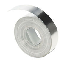 "DYMO Rhino Metal Label Self-Adhesive Tape 1/2"" x 12 ft. Aluminum 35800"