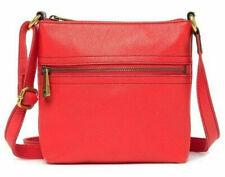 NWT Fossil Explorer Mini Crossbody Orange Leather Bag Retail $98 SHB1839620