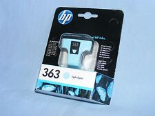 HP 363 Light Cyan Printer Cartridge, HP C8774EE ABB Ink Jet Cartridge, Genuine