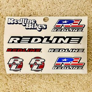 """1990s N.O.S. Vintage Robinson Racing BMX bicycle sticker 4 3//4/"""" long white"""