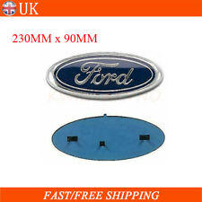 1x  For Ford Transit Front Grill Blue Oval Badge Bonnet Emblem 2006-2014 MK6 MK7