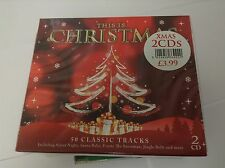 Various Artists : This Is Christmas (2CDs) (2010) NEW SEALED 2 CD