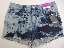 Mossimo High Rise Short Shorts Blue Tie Dye Size 6/28  MSRP $19.99 Very Neat!