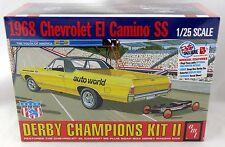 1:25 Scale 1968 Chevrolet El Camino w/Soap Box Derby Car Model Kit - AMT #1018