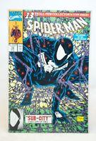 (MA5) SPIDER-MAN #13 Marvel Comics  (1991) Legend of the Black Knight