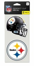 Pittsburgh Steelers Decals Pack of 2 Die Cut Car Stickers Truck Decal Auto