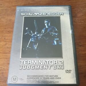 Terminator 2 Judgment Day Ultimate Edition DVD R4 Like New! FREE POST