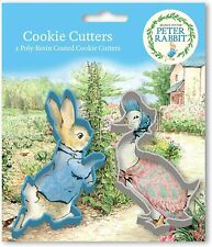 Peter Rabbit Poly Resin Coated Cookie Cutter Set