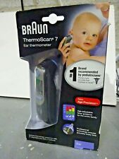 Braun ThermoScan 7 Ear Thermometer - Black