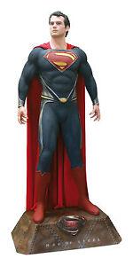 Superman Man of Steel Life Size Figur Lebensgroß Muckle Oxmox