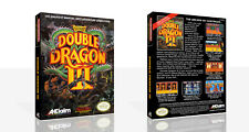 Double Dragon III The Sacred Stone NES Spare Game Case Box + Cover Art (No Game)