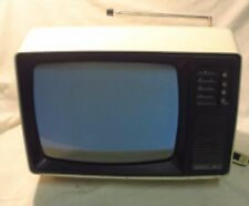 VINTAGE 1980 JUNOST 402 W * 13'' RUSSIAN TV portable 230V / 12V