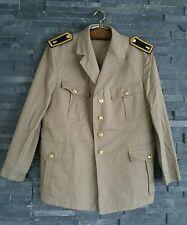 Bundeswehr Marine Sakko Gr. 174/112 Bw Tropen Uniform Bw Kapitän Uniform khaki
