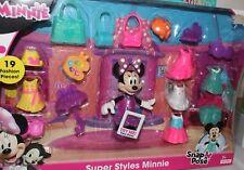Disney Junior Super Styles Minnie Snap N  Pose 19 pc Set