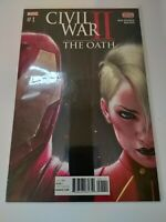 Civil War II The Oath #1 Main Cover Captain Marvel Comic 1st Print 2017 NM