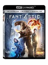 FANTASTIC FOUR (2015)  (4K ULTRA HD)- Blu Ray -  Region free