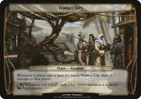1x Tember City - OVERSIZE DCI Promo MTG Oversize Cards/Box Toppers NM Magic Regu