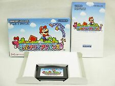 SUPER MARIO ADVANCE 1 Game Boy Advance Nintendo Japan Boxed Game gba